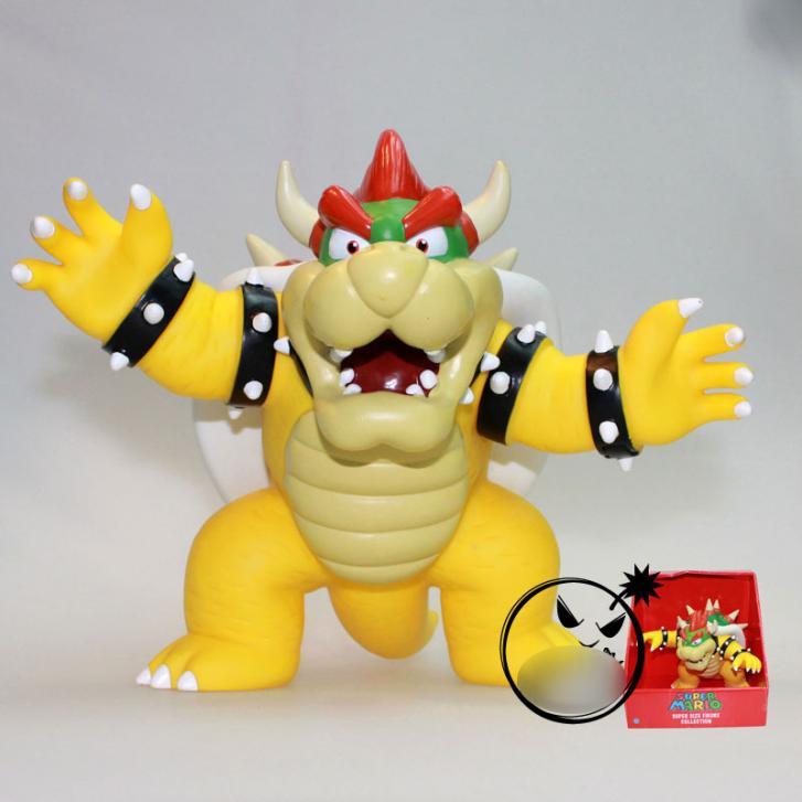 """Chiffres super mario bros poupée jouets 4"""" mario koopa king bowser pvc films jeux vidéo figurines jouets cartoon sm0083"""