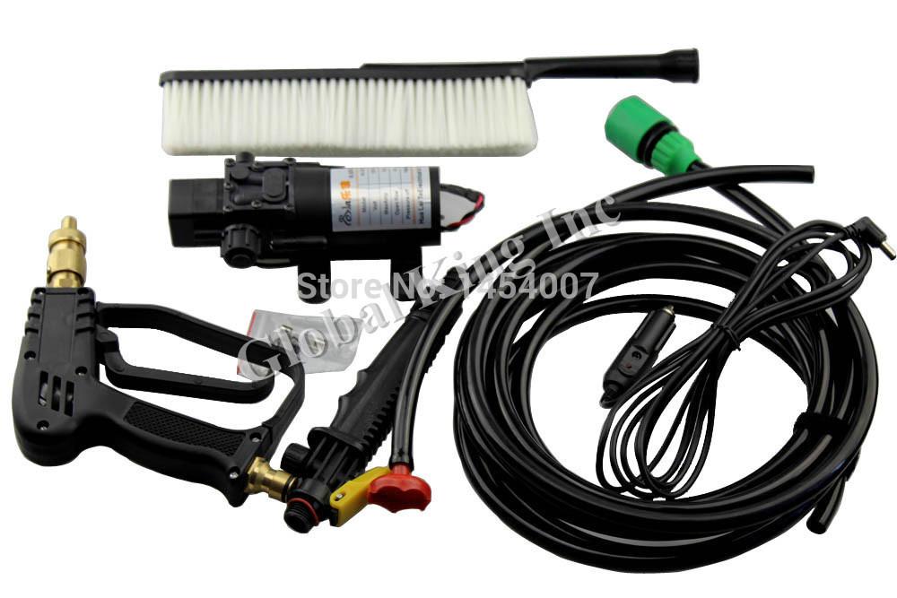 12V Car Electric 60w High Pressure Car Washer Portable Car Wash Pump(China (Mainland))