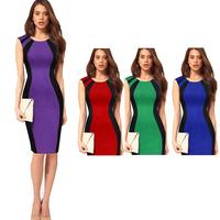 New summer Elegant Ladies Sexy party Pencil dress Women Bodycon Dress style print brand sexy Slim party sleeveless slim dress