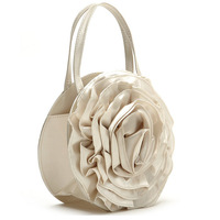 Hot Lolita Style Women's Party Clutches Brand Designer Solid 3D Rose Flower Day Clutches Evening Bags Small Casual Freeshipping
