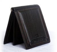 2014 New brand handbag genuine leather purse men the fashion clutch men's wallets black coffee colour Coin Purses