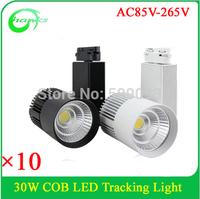 Showroom/Clothing Store/Commercial Lighting LED  track lighting 30w adjustable led cob track light