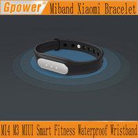 New Original Xiaomi Mi Band Smart Miband Bracelet for Xiaomi MI4 M3 MIUI Smart Fitness Wearable Tracker Waterproof Wristband