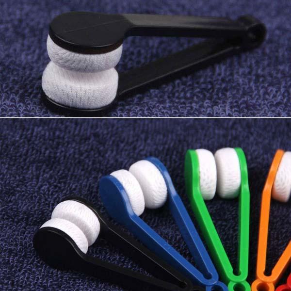 Потребительские товары Unbrand 2 Eyeglass cleaner brush