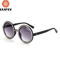 Cazal Vintage Round Sunglasses Women Gafas Oculos Retro Sun Glasses Shades Oculos De Sol Feminino FDY8614