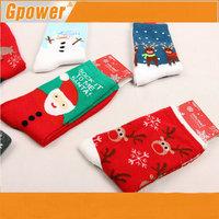 In stock!!Womens Christmas Assorted Socks Lot Santa/Deer/Snowman Cute Cartoon Socks
