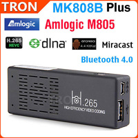 MK808B Plus Amlogic M805 Quad Core Android TV Stick Mini TV Dongle 1G/8G H.265 Bluetooth DLNA Miracast Android 4.4 Kitkat