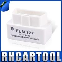 Good quality super mini 327 white elm327 support all OBD2 OBD II white 327 v2.1(10pcs\ a lot)