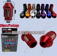 20Pcs/Set D1 SPEC Lug Nut M12*P1.5 Wheel Nuts FOR Honda Acura Mitsubishi, Mazda, Toyota Scion Lexus