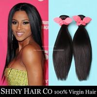 5 Bundles Brazilian Virgin Hair Straight Natural Black 6A Unprocessed Human Hair Weave Wowigs Virgin Hair Grace Hair Products