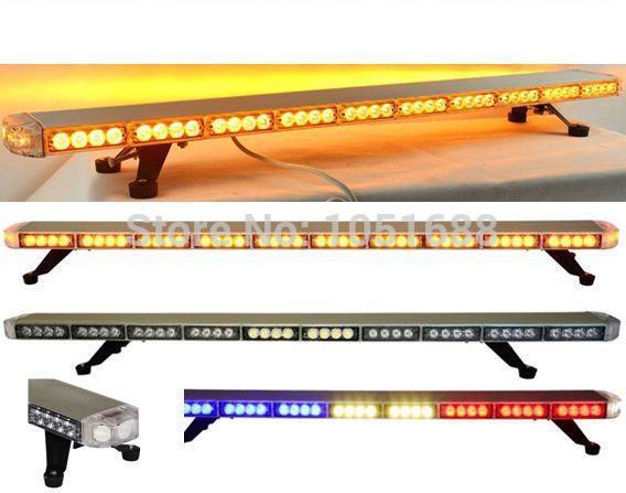 Free shipping High Bright&high quality Generation-3 1Watt amber led light bar led bar light for car(China (Mainland))