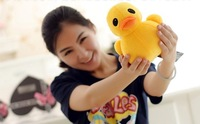 2pcs/lot  Yellow Plush Toy Duck 20cm Mini size Gift for girls or kids Free shipping