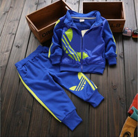 children twinset sportswear sport set jogging jacket + pants for boys girls tracksuits shampooers clothes spring autumn clothing