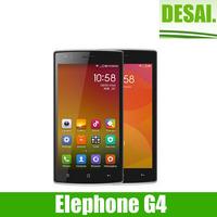 Elephone G4 Mobile Phone 5inch HD IPS 1280*720 MTK6582 Quad Core 1GB RAM 4GB ROM Dual Camera GPS  WIFI with free gift