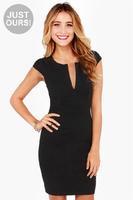 Brief slim dress High quality cotton women dress V-neck sexy zipper female dress 2014 new