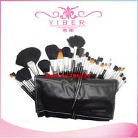 Big Discount !! Freeshipping Professional Makeup Brush 32 pcs Cosmetic Facial Make up Brush Kit Makeup Brushes Tools Set +Case