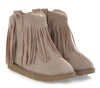 2014 Winter women's Sweet nubuck leather velvet flat heel tassel boots flat snow boots plus size Free shipping