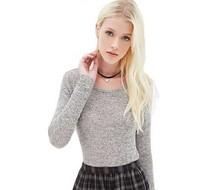 T Shirt Women Blusas Femininas Plus Size Long Sleeve Shirt Tops Sexy Backless Slim Basic Tees Blusas Casual Knitted Clothing