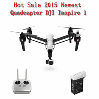 2015 Newest DJI Inspire 1  Remote Controls 3-Axis Gimbal 4K HD Camera Drone Quadcopter with Plastic Carrying Box HOT Sale