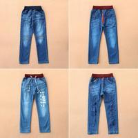2014 NEW Spring&Autumn brand children'pants kids baby girls jeans girl trouser 3-7years jeans children girls