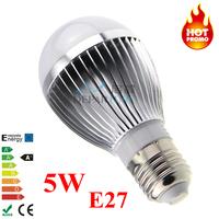 5W  E27 LED bulb light High brightness SMD5730/5630 LEDs light bulb Lampada LED with IC constant current driver 85-265v