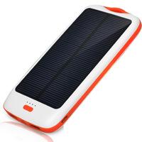 DBK SLG11 11000mAh Dual Port Solar Panels Battery Charger Portable Power Bank Ext