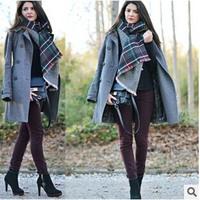 za Winter 2014 Tartan Scarf Desigual Plaid Scarf New Designer Unisex Acrylic Basic Shawls Women's Scarves Big Size 200*70CM