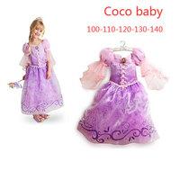 New 2014 children's Christmas party dress and girls  Frozen anna&elsa Princess Dress,baby girls dresses,kids wear Frozen dress