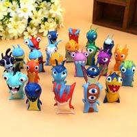 24pcs/set Cute Cartoon Slugterra PVC Action Figures Model Toys Dolls Christmas Gifts Boys Toys Free Shipping