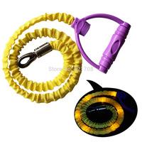 Durable LED Big Dog Leash Lead, Light up LED Pet Dog Leash for Large Dogs ( Yellow )