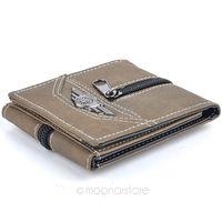 Top Quality Vintage&Casual Retro Manmade Canvas men wallet short wallet Hot sale 3 colors mixed  Durable ZS*B9072#S3