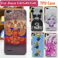 22 Patterns Jiayu G4 Case Cover Colored Paiting Case for Jiayu G4 Jiayu G4C G4S Free Shipping