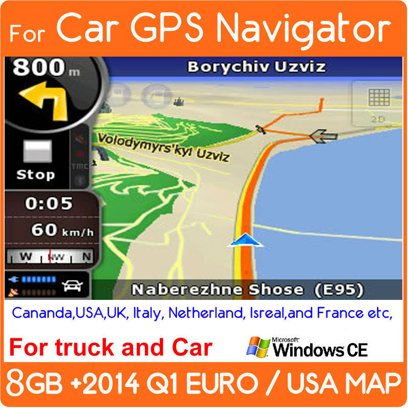 2014 Car DVD GPS MAPs SD CARD & TF Micro SD card 8G Memory Card witheurope,USA,italy,canada,france, UK,netherland,spain map(China (Mainland))