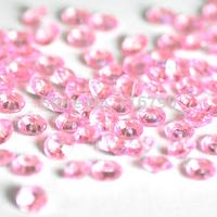 free shipping 2000pcs 8mm Acrylic Wedding Decoration Diamond Confetti For Wedding Party Favors