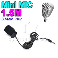 3.5mm Hands Free Clip Mini Mic Microphone Studio Speech Lecture Microphone Computer Notebook Laptop Android tablet PC for Skype