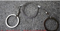 Free Shipping!  Steel Wire Saw Scroll Saw Outdoor Survival Tool-100 Piece / Lot with Blister Pack