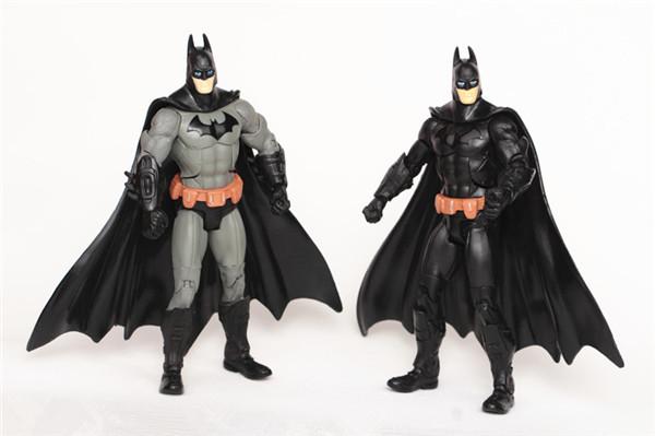 "J.G! Free Shipping 7""/18cm Marvel The Dark Knight Mc Batman Action Figure Toy 1/6 Super Hero Superhero Classic Toys For Children(China (Mainland))"