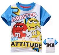 boys Children t shirts Baby boy clothes cartoon summer boys clothes 2-8yrs T-shirt For child Free shipping 925