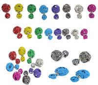 Trendy Double Ball Earrings Multi Colors Women Gold Plated Two Balls Earring Double Sides Pearl EarringsTwist Ball Stud Earrings
