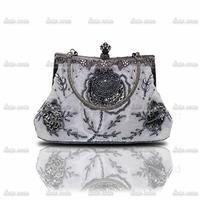 Wholesale 2014 hot spot fine European and American vintage beaded evening bag burst models handbag 03331-1