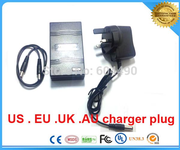 UPS/FEDEX/DHL shipping 100pcs/lot 12V 2000mah Rechargeable Li-ion Lithium Battery for CCTV camera,LED light(China (Mainland))