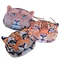 1PC New Fashion Girls Cute Animal Cartoon Face Bag Zip Coin Change Purse Case Wallet Gift Drop Shipping