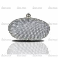 2014 upscale fashion style diamond boutique evening banquet bag rhinestone ring female small bag the bride wedding bag