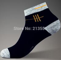 High-quality black and white men's socks deodorant brand sports socks mens socks
