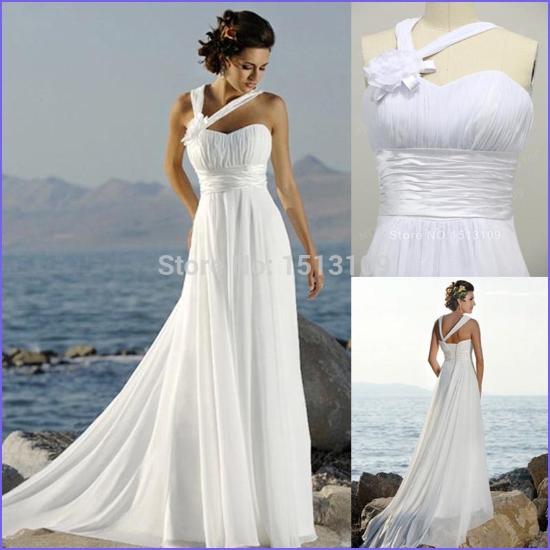 2014 hinreißenden mantel sweep zug chiffon liebsten ärmellos strand brautkleider vestido de noiva