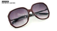 Free-shipping 7 colors of Retro women polarized frame sunglasses/oculos G204