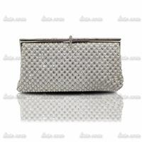 Rich and full diamond luxury Clutch double-sided Purses Diamonds Crystal wedding Bags Rhinestone Women's handbag evening bags
