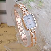 2014 New Hot Sell Nice Elegant Luxury Women WristWatch Fashion Dress Watches Black White Ultra Slim Thin Watch  ZS*MHM609#S3
