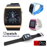 "Smart Watch Bluetooth Upro Smartwatch Phone 1.54"" IPS Camera FM SIM Pedometer Sync For iPhone 6 Samsung S5 Note 4 5pcs Wholesale"