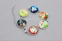 Christmas Day Resin Photos Gift Bracelet ,Adjustable Sizes ,Great gift, min order $10.0 3pcs #026